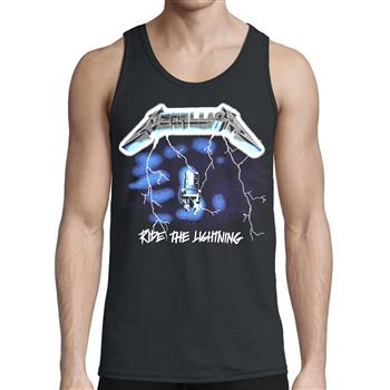 Metallica Ride The Lightning Tank Top
