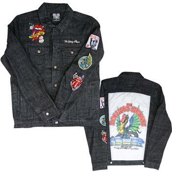 Buy Rolling Stones Dragon Denim Jacket by Rolling Stones