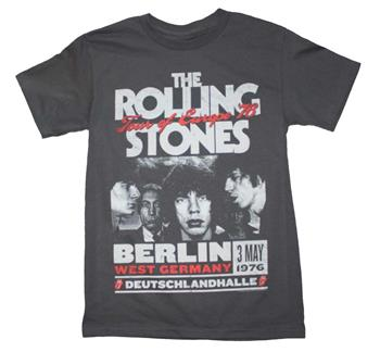 Buy Rolling Stones Europe 76 Tour T-Shirt by ROLLING STONES