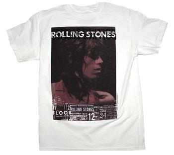 Rolling Stones Rolling Stones Keith Vintage Live T-Shirt