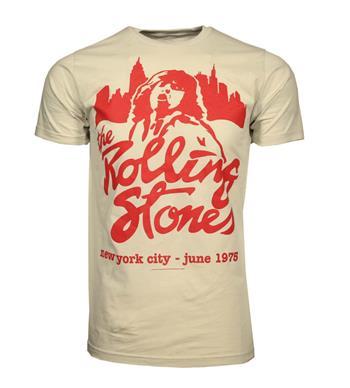 Rolling Stones Rolling Stones Mick June 1975 T-Shirt