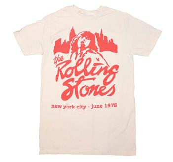 Buy Rolling Stones Mick June 1975 T-Shirt by ROLLING STONES