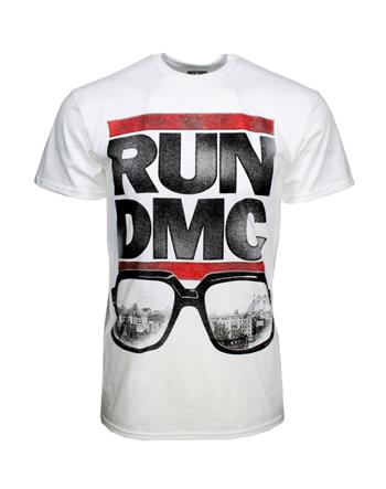 Run D.M.C. Run DMC Glasses NYC T-Shirt