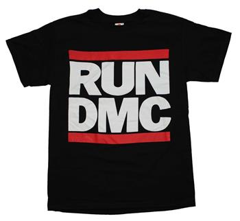 Buy Run DMC Logo Black T-Shirt by Run D.M.C.