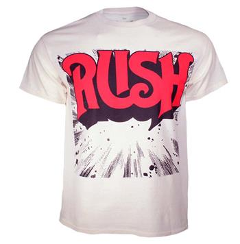 Buy RUSH Starburst Logo T-Shirt by Rush