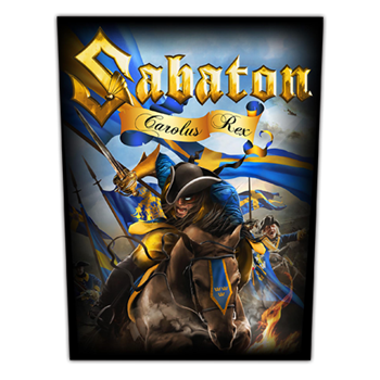 Sabaton Carolus Rex Backpatch