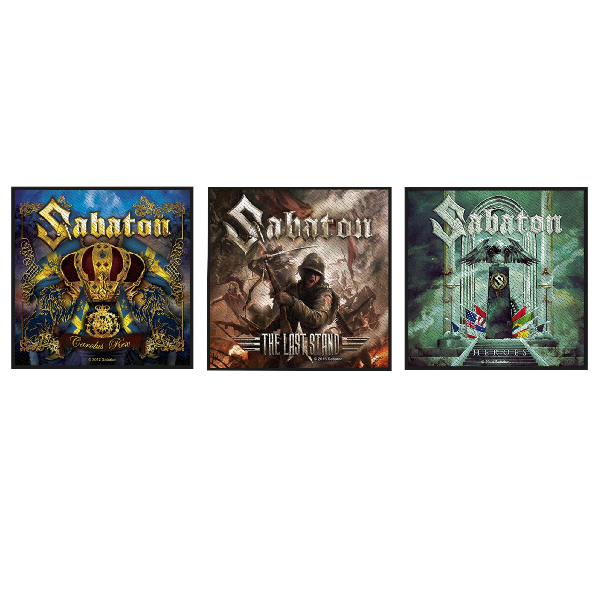 Sabaton Patch Pack