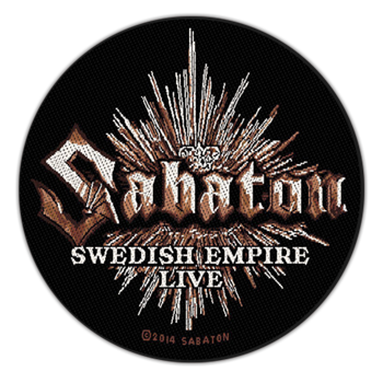 Buy Swedish Empire Live by Sabaton