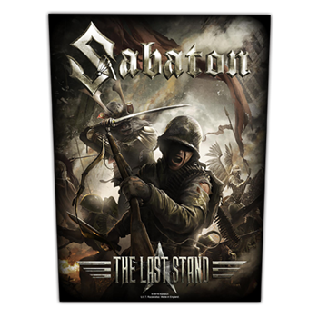 Sabaton The Last Stand Backpatch