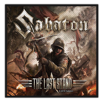 Buy The Last Stand Patch by Sabaton