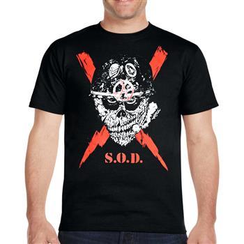 S.O.D. Scrawled Lightning T-shirt