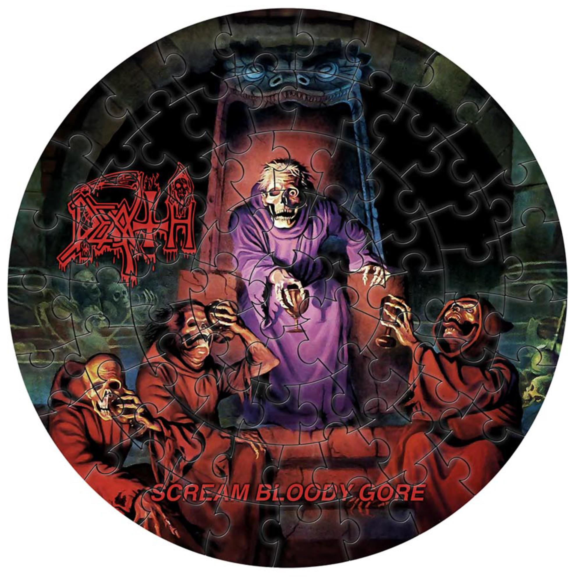 Scream Bloody Gore Jigsaw Puzzle