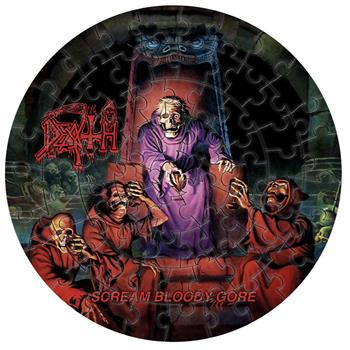 Death Scream Bloody Gore Jigsaw Puzzle