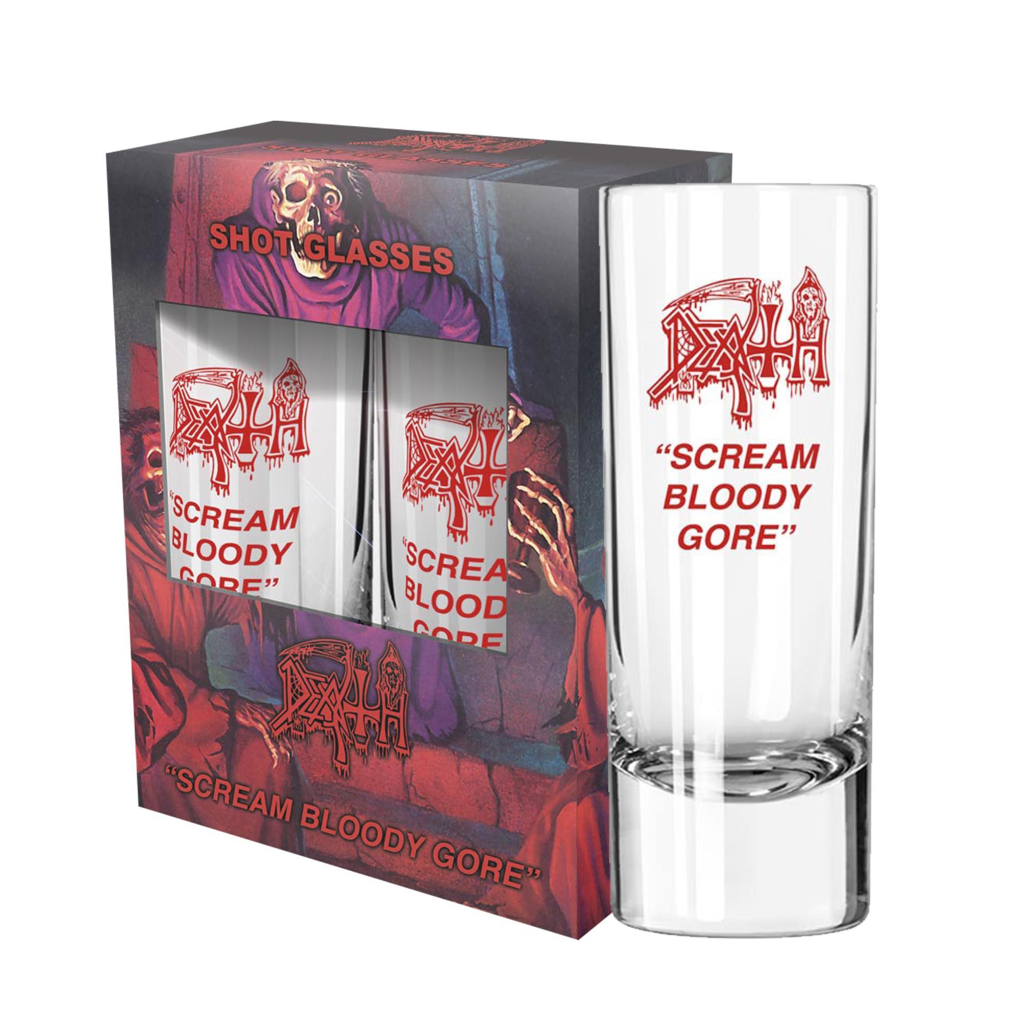 Scream Bloody Gore Shot Glass