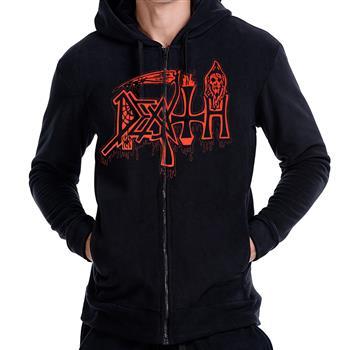 Death Scream Bloody Gore Zip Hoodie