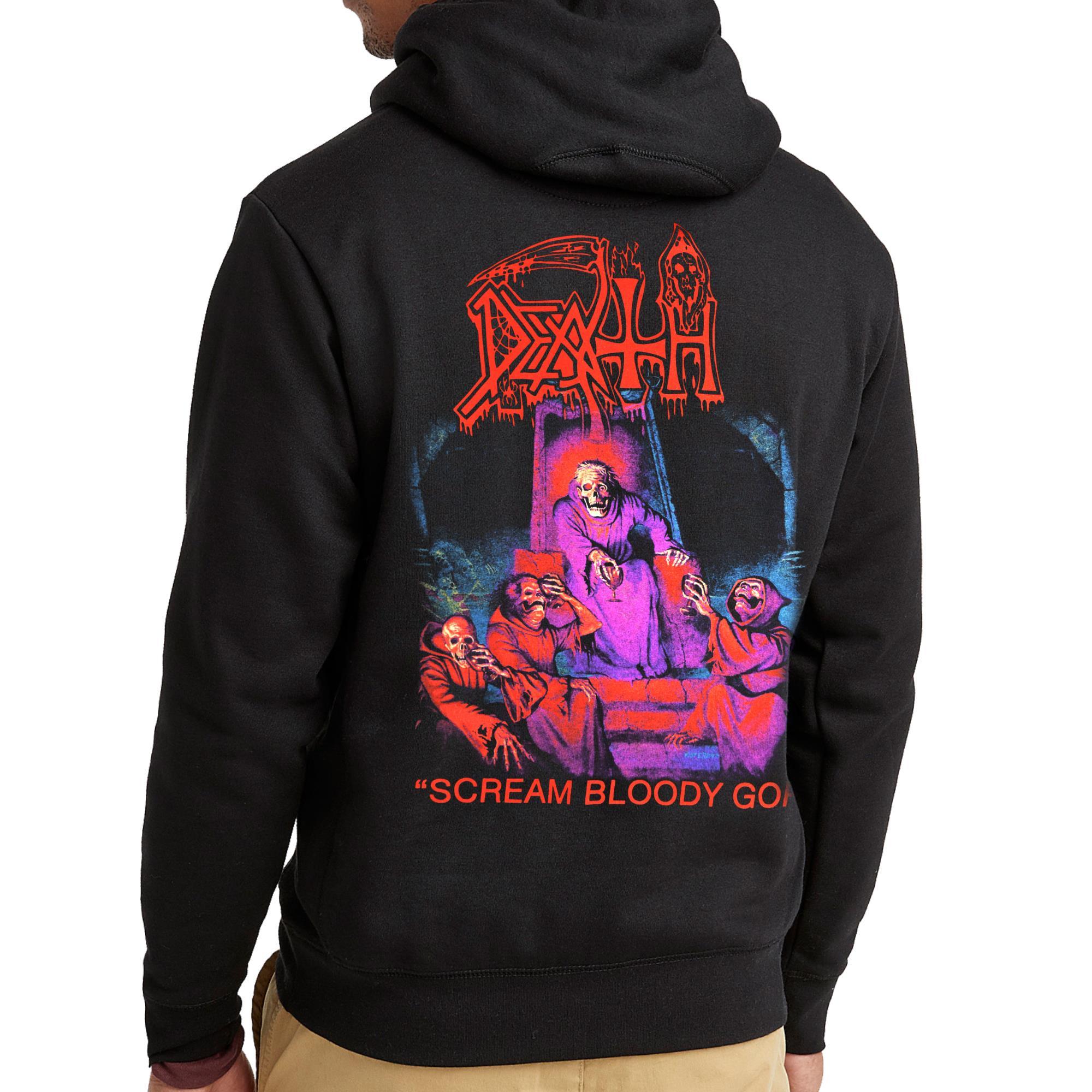 Scream Bloody Gore Zip Hoodie