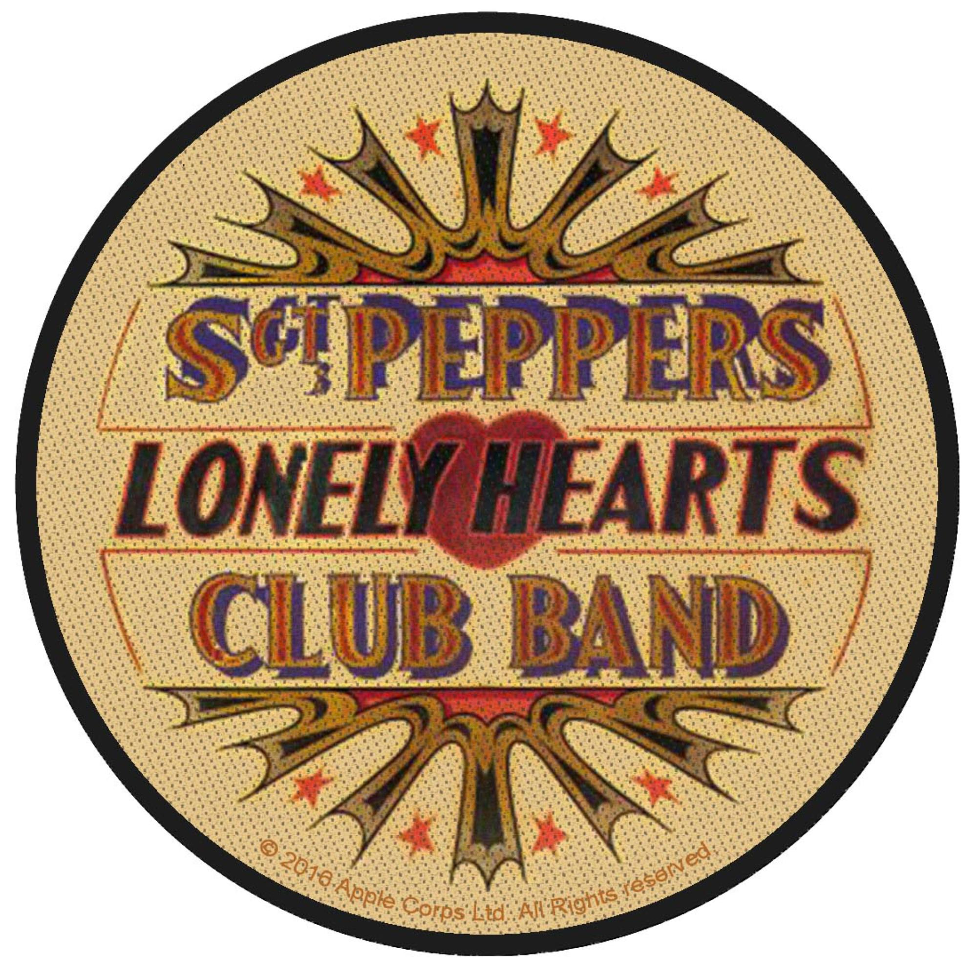 Sgt. Pepper Lonely Hearts Club Patch