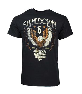 Buy Shinedown Heavy Landing T-Shirt by Shinedown
