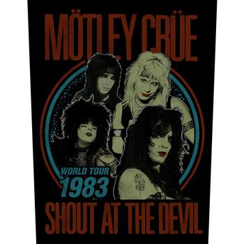 Motley Crue Shout At The Devil Backpatch