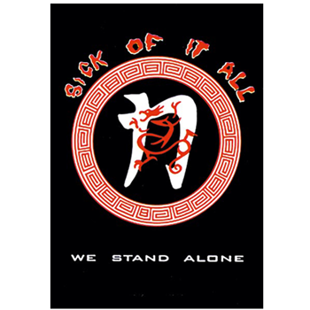 Sick Of It All We Stand Alone Flag