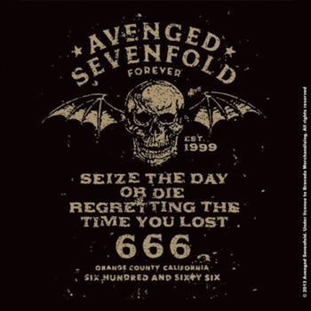 Buy Sieze The Day Coaster by Avenged Sevenfold