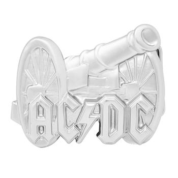 AC/DC Silver Cannon Buckle
