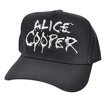 Buy Silver Logo Hat by Alice Cooper