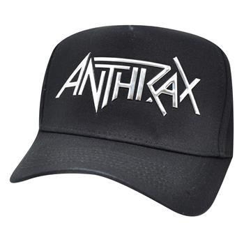 Buy Silver Logo Hat by Anthrax