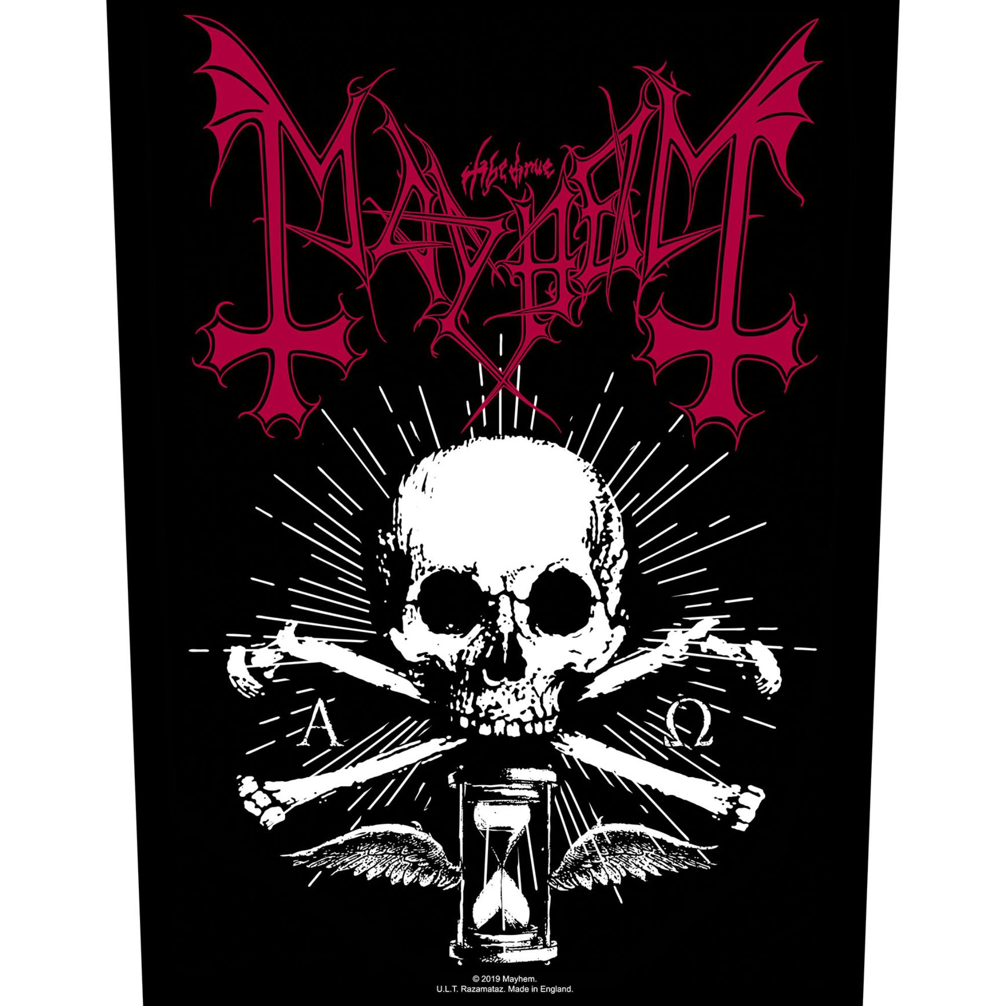Skull & Hourglass Backpatch