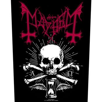 Buy Skull & Hourglass Backpatch by Mayhem