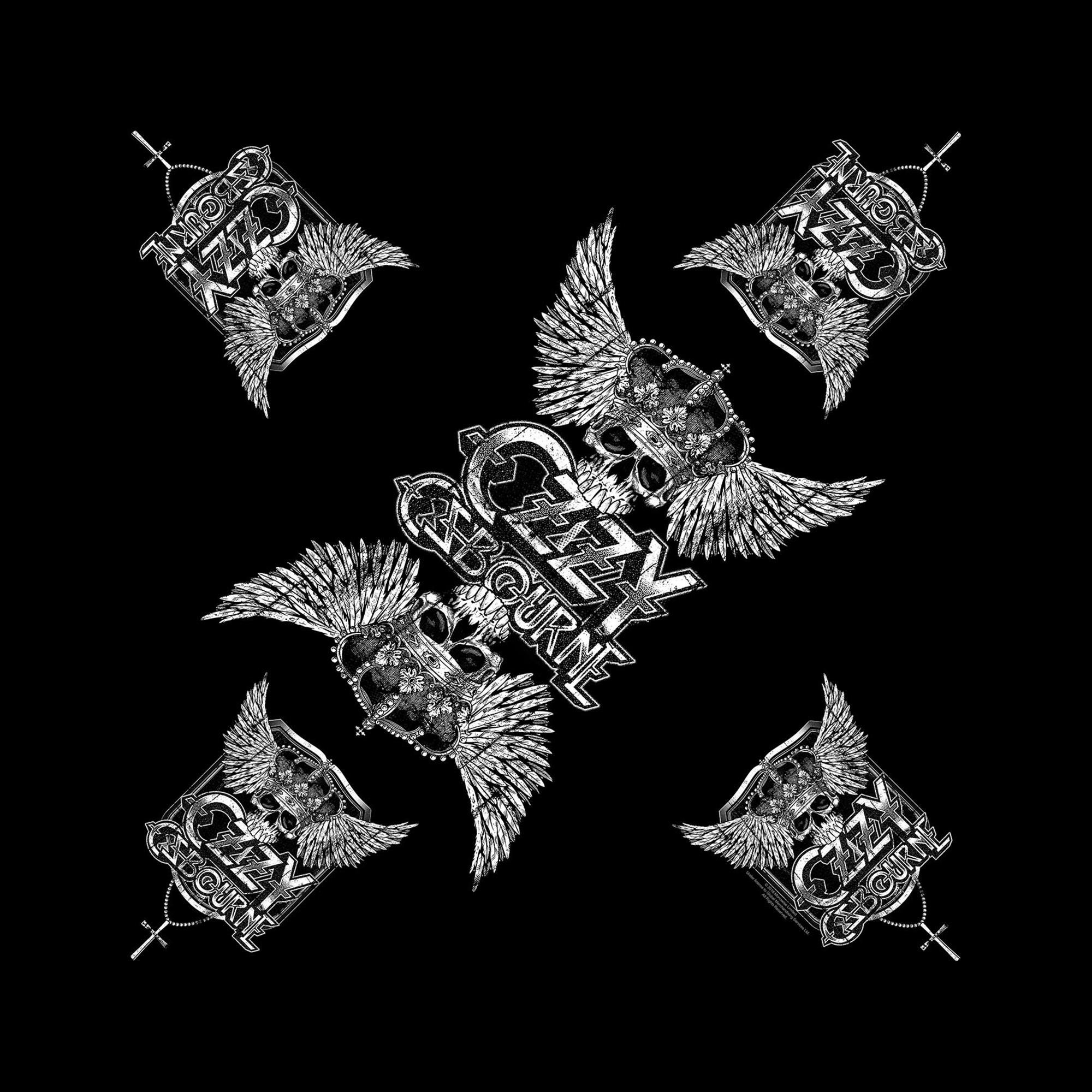Skull & Wings Bandana