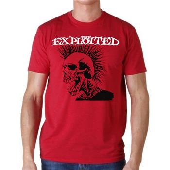 Exploited (the) Skull Red