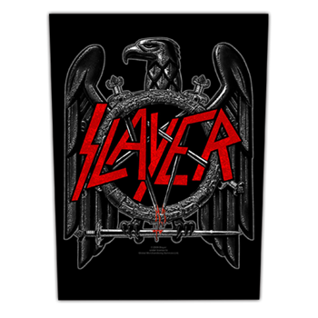 Slayer Black Eagle Pentagram Patch