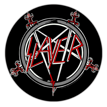 Slayer Pentagram Patch