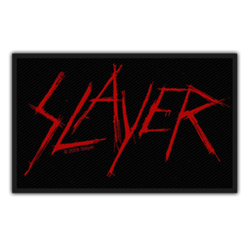 Slayer Scratch Logo Patch