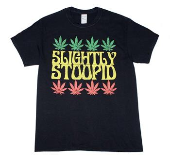 Buy Slightly Stoopid Rasta Leaf T-Shirt by Slightly Stoopid