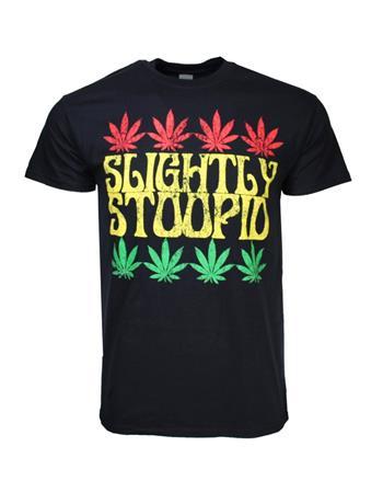 Slightly Stoopid Slightly Stoopid Rasta Leaf T-Shirt