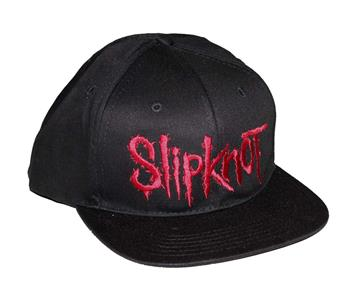 Slipknot Slipknot Embroidered Logo Snap Back Hat