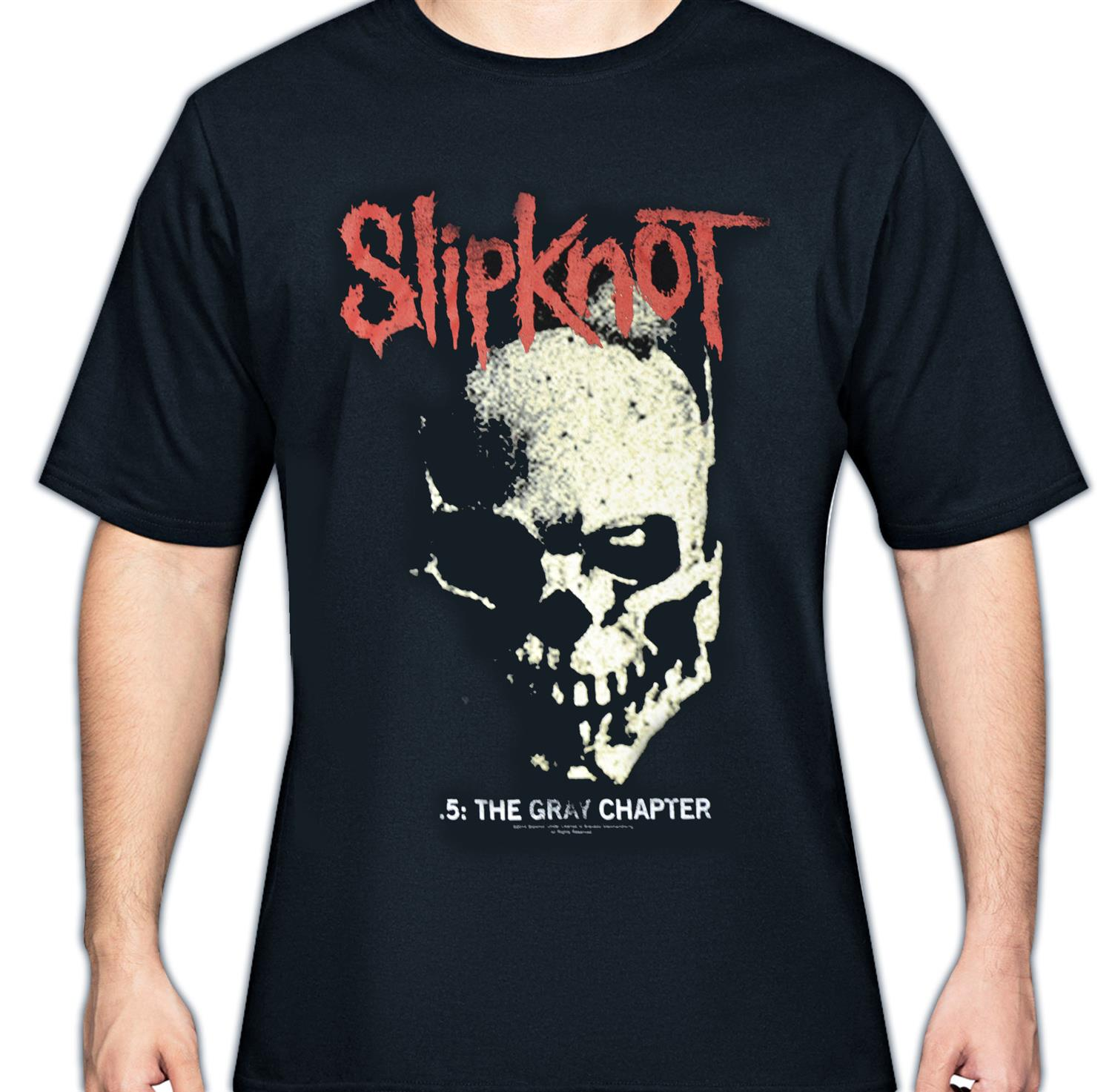 Gray Chapter Skull T-Shirt