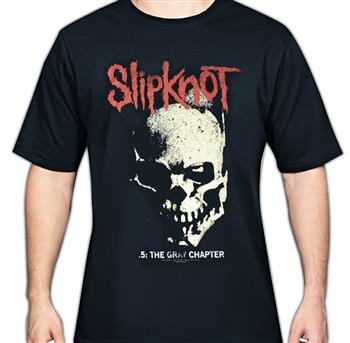 Slipknot Gray Chapter Skull T-Shirt