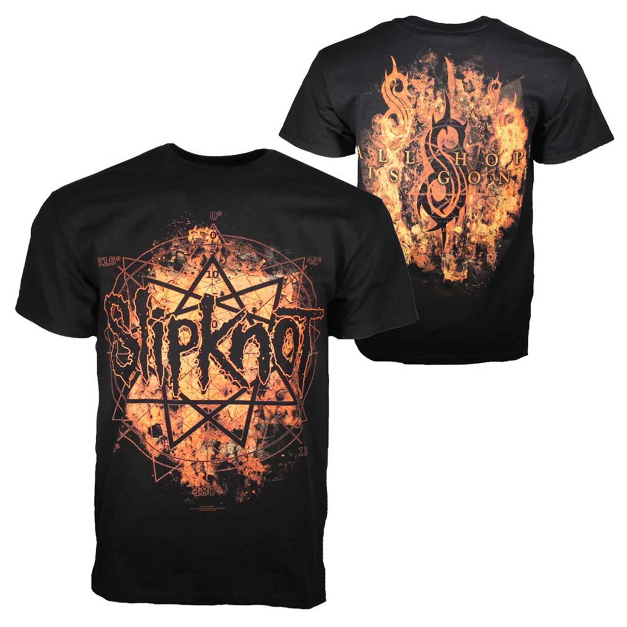 Slipknot Radio Fires Logo T-Shirt