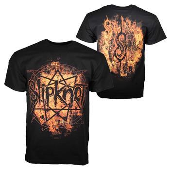 Slipknot Slipknot Radio Fires Logo T-Shirt
