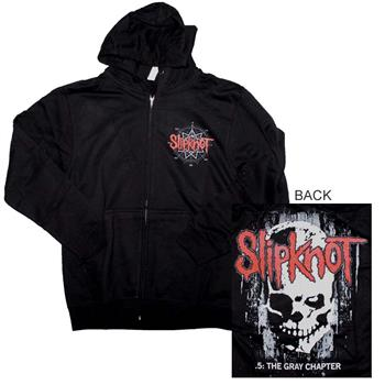 Buy Slipknot Skull Back Hoodie Sweatshirt by Slipknot