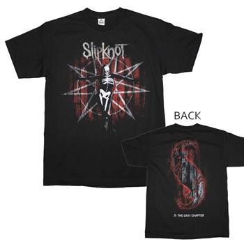 Buy Slipknot the Gray Chapter Skull T-Shirt by Slipknot