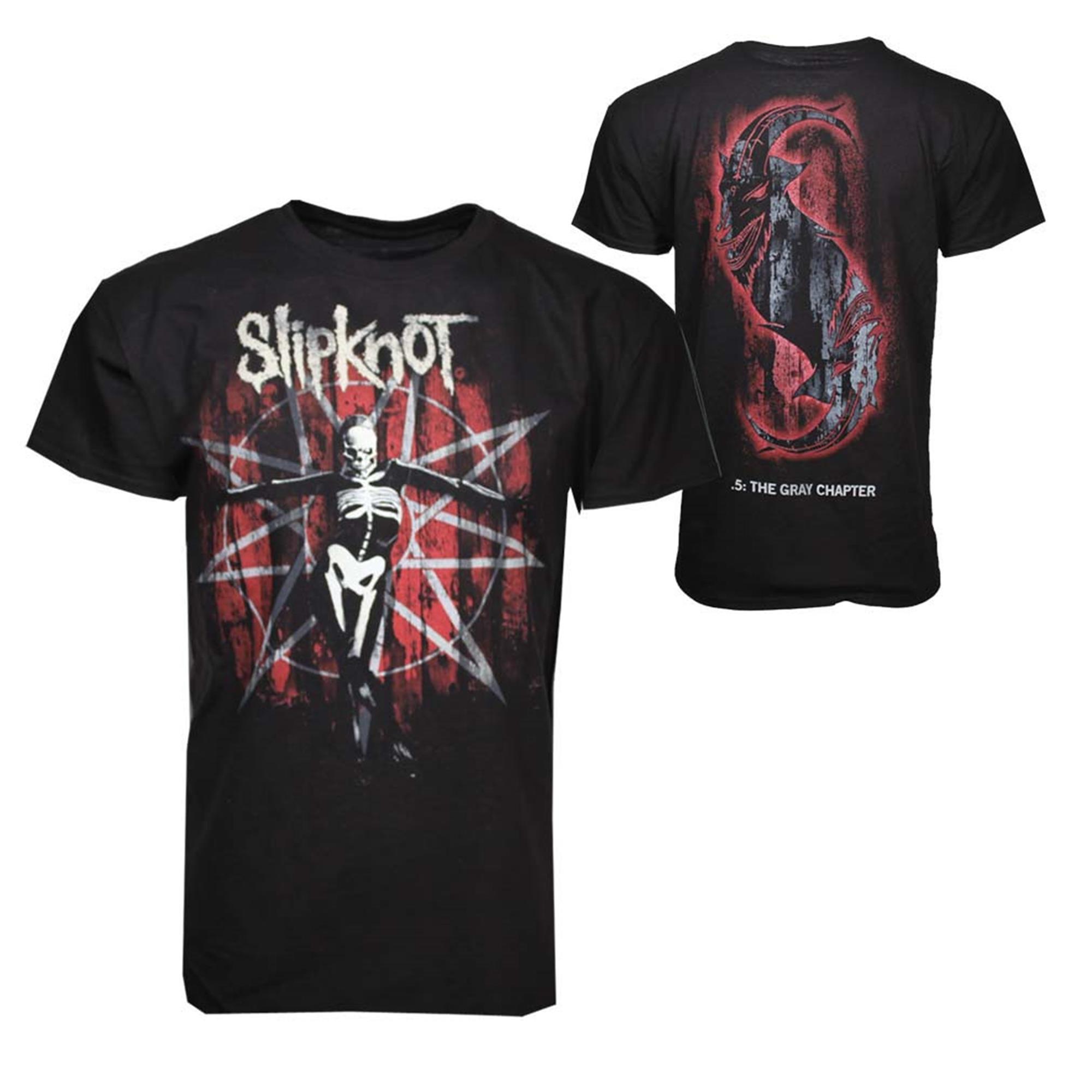 Slipknot The Gray Chapter Star T-Shirt