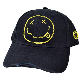Nirvana Smiley Hat