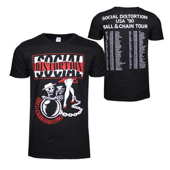 Social Distortion Social Distortion Ball & Chain T-Shirt