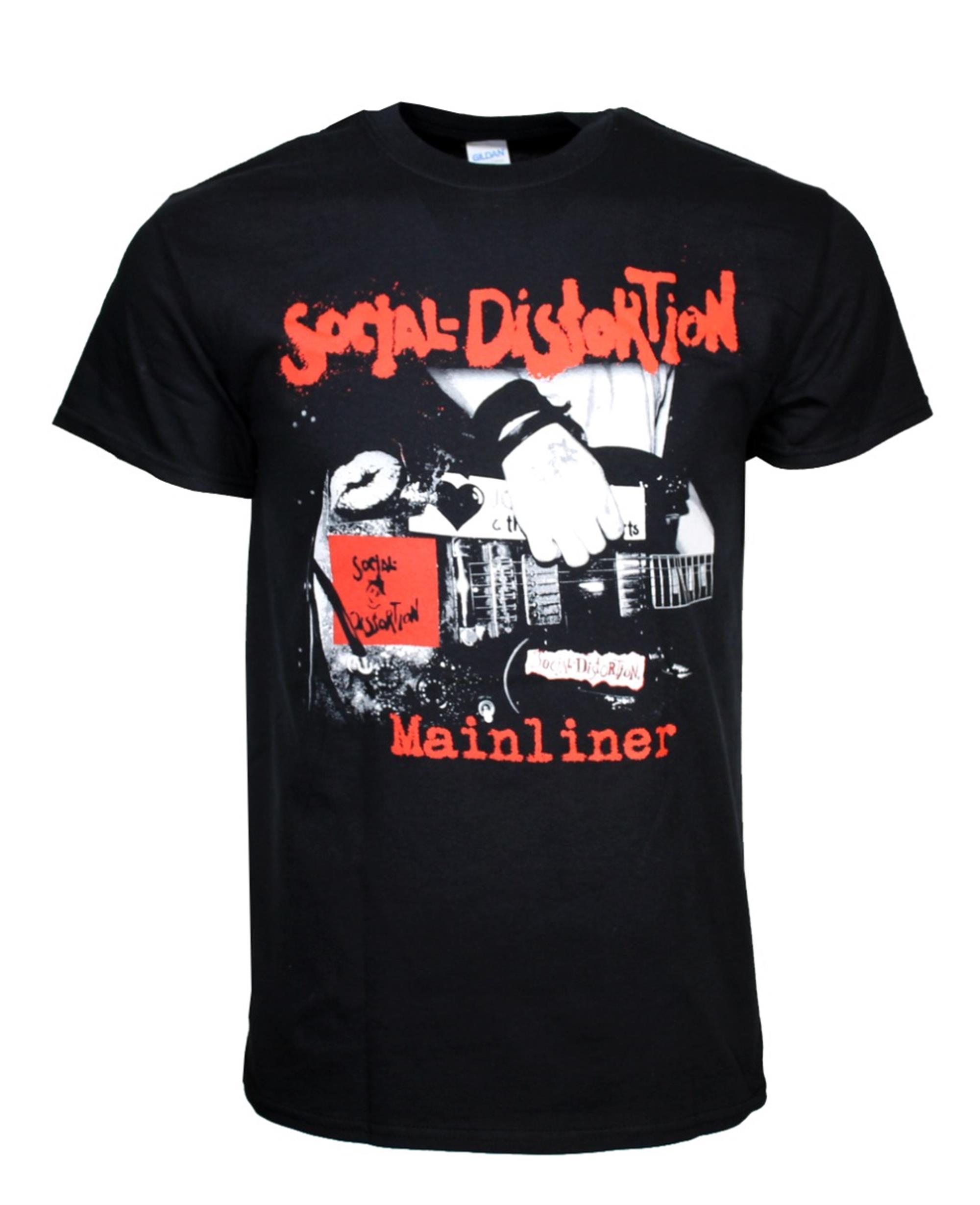 Social Distortion Mainliner Album T-Shirt