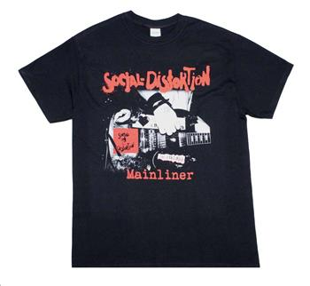 Buy Social Distortion Mainliner Album T-Shirt by Social Distortion