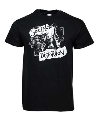 Buy Social Distortion Pretty Picture T-Shirt by Social Distortion